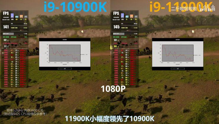 Intel Core i9-10900K vs Core i9-11900K en juegos (3)