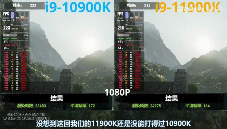 Intel Core i9-10900K vs Core i9-11900K en juegos (6)