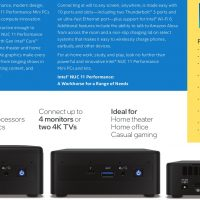 Intel anuncia sus Mini-PCs NUC 11 con procesadores Tiger Lake