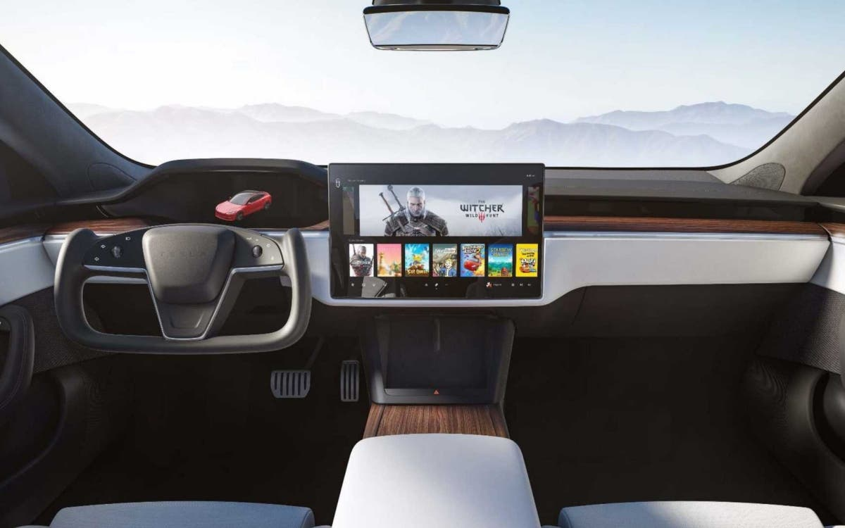Interior del Tesla Model S 2021 1 0