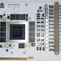 La KFA2 GeForce RTX 3090 Hall of Fame (HOF) aparece mostrando su VRM de 24 fases de alimentación