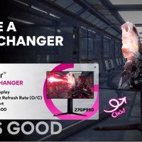 LG 27GP950 UltraGear: 27″ 4K @ 160 Hz con conectividad HDMI 2.1