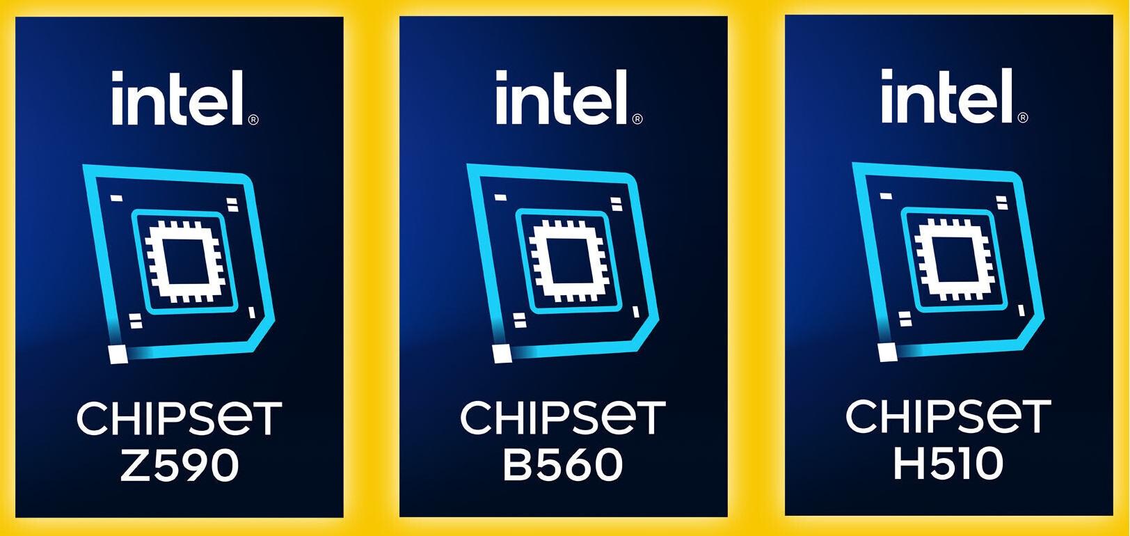 Logos Chipset Intel Z59 B560 y H510 0