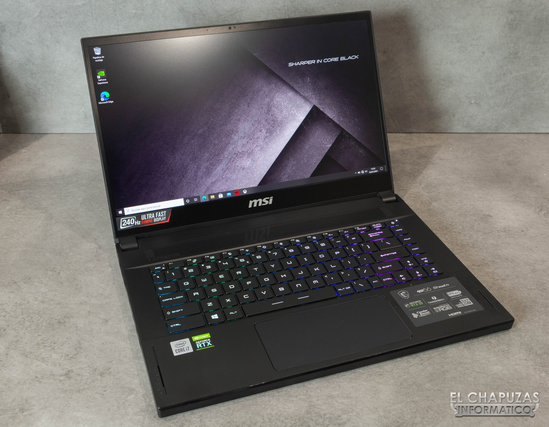 MSI GS66 Stealth 10 UH 28 0