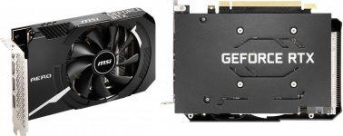 MSI lanza su GeForce RTX 3060 Ti Aero ITX y GeForce RTX 3060 Aero ITX para equipos ultracompactos