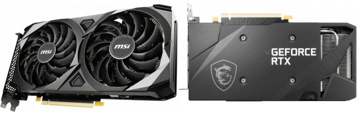 GeForce RTX 3060 Ti Ventus 2X V1