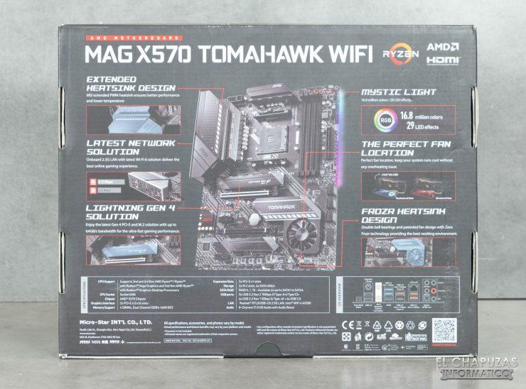 MSI MAG X570 Tomahawk WiFi - Embalaje 2