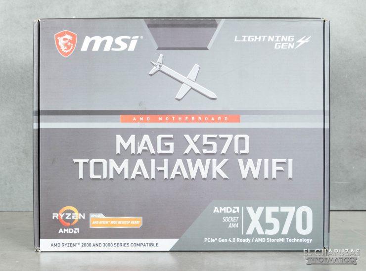 MSI MAG X570 Tomahawk WiFi - Embalaje 1
