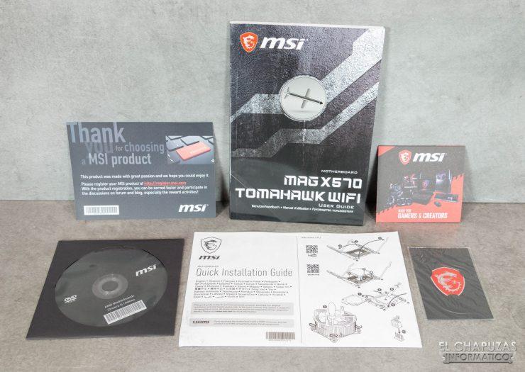 MSI MAG X570 Tomahawk WiFi - Documentación
