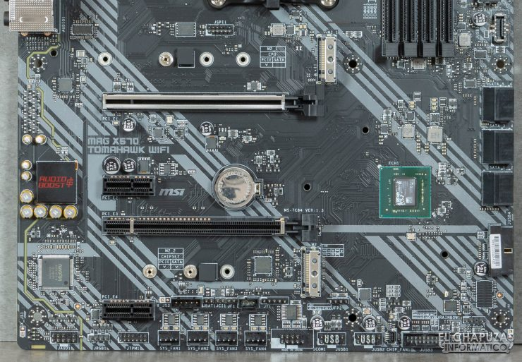 MSI MAG X570 Tomahawk WiFi - Slots M.2 PCIe 4.0