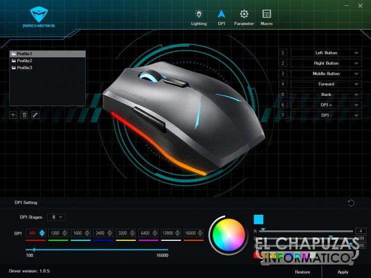 Machenike M7 - Software 02