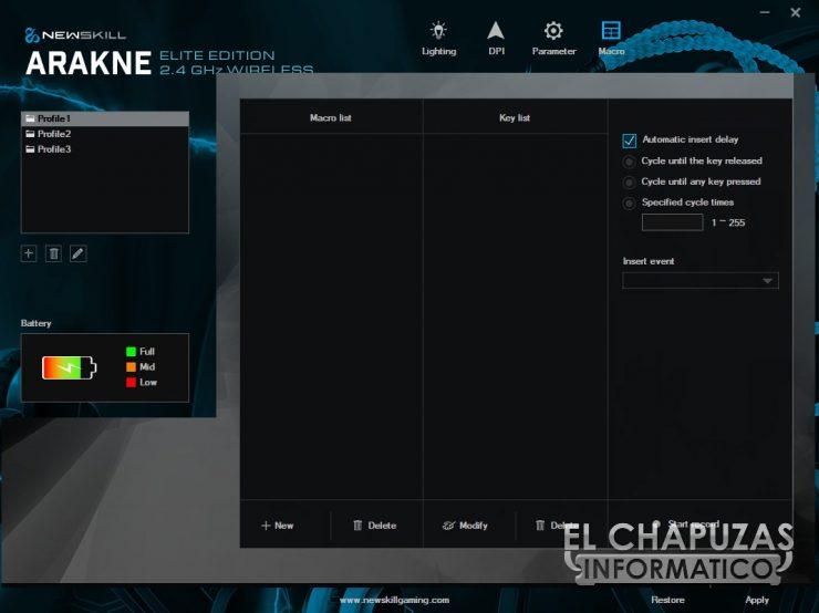 Newskill Arakne Elite - Software 4