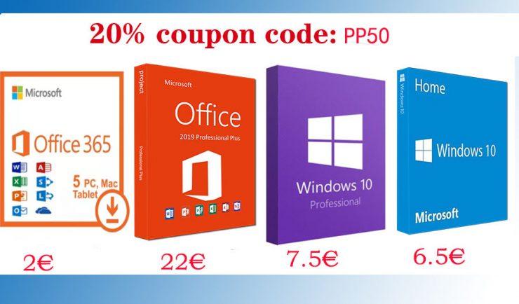 Oferta de licencias Windows y Office en Ucdkeys