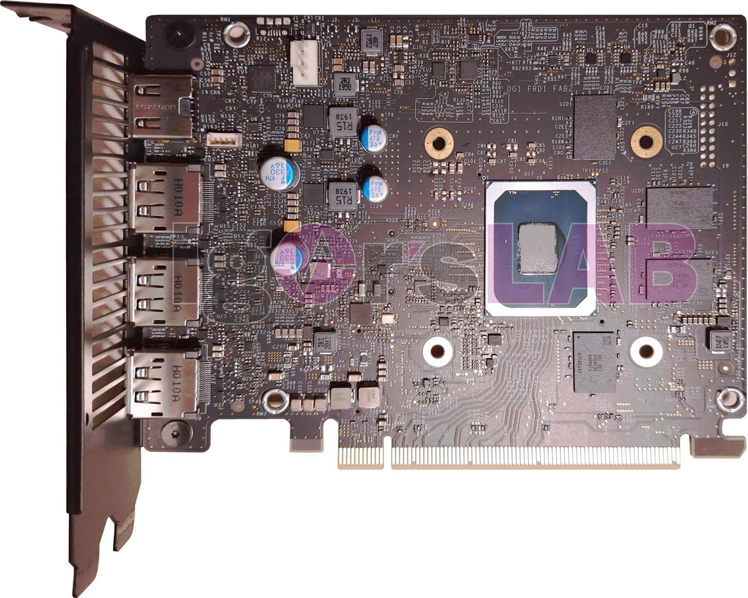 PCB Intel DG1 SDV 1