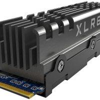 PNY XLR8 CS3140: SSD M.2 NVMe PCIe 4.0 @ 7500 MB/s con un disipador sobredimensionado