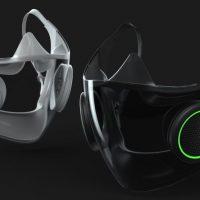 Razer anuncia un concepto de su mascarilla inteligente RGB y su silla gaming de carbono