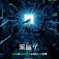 El smartphone gaming Black Shark 4 se cargará en menos de 15 minutos gracias a su carga rápida de 120W