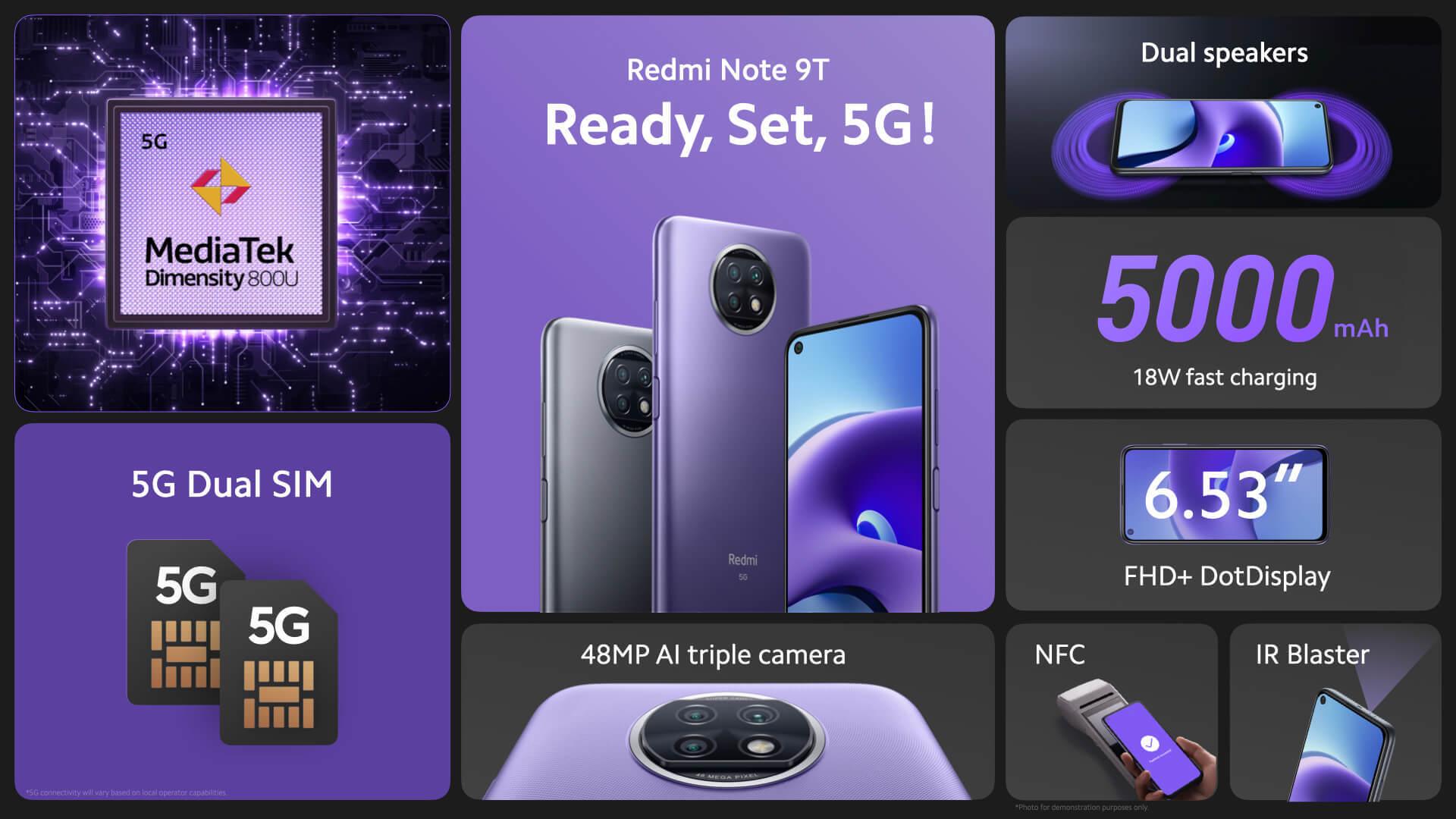 Redmi Note 9T 5G. 0