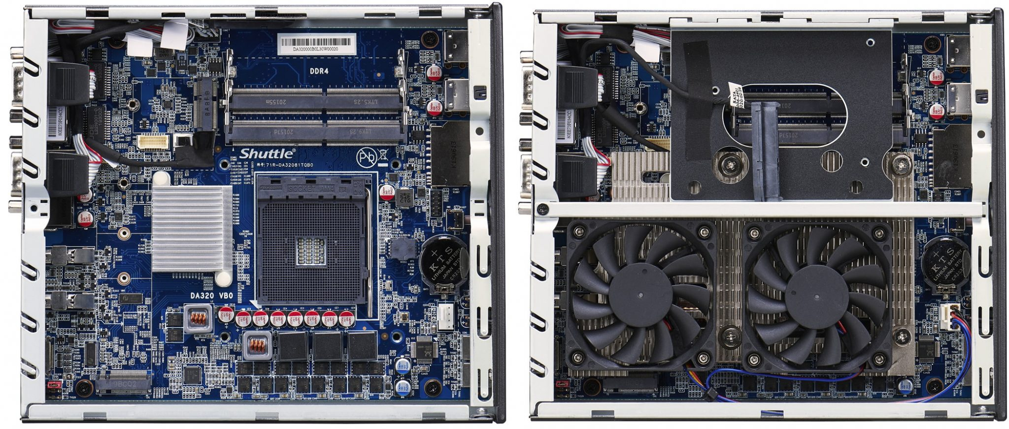 Shuttle XPC DA320 Sistema de refrigeracion 2048x872 1