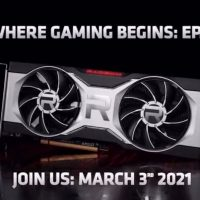 AMD anunciará su Radeon RX 6700 XT el próximo 3 de Marzo