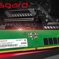 La compañía china Asgard muestra su memoria RAM DDR5 @ 4800 MHz