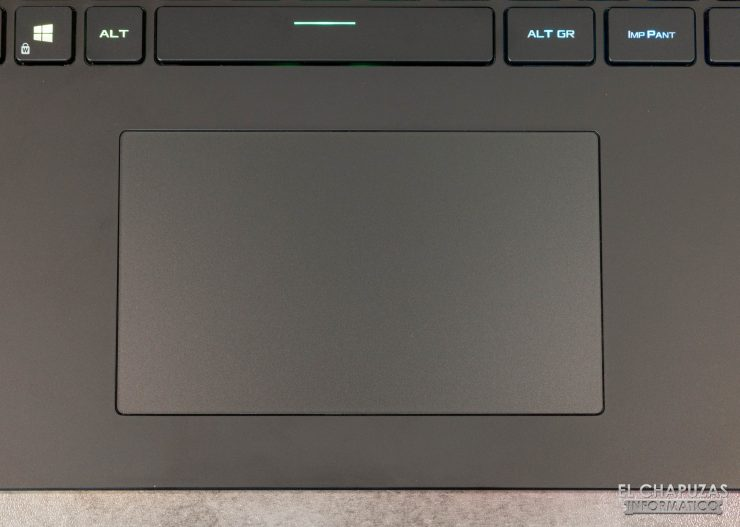 Asus ROG Strix SCAR 17 G733Q - Touchpad