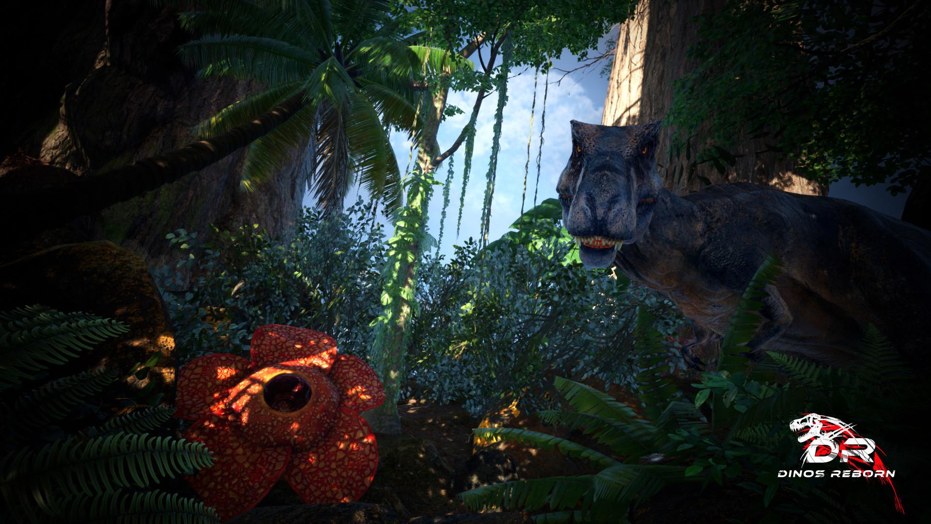 Dinos Reborn, otro juego de supervivencia en un mundo plagado de dinosaurios