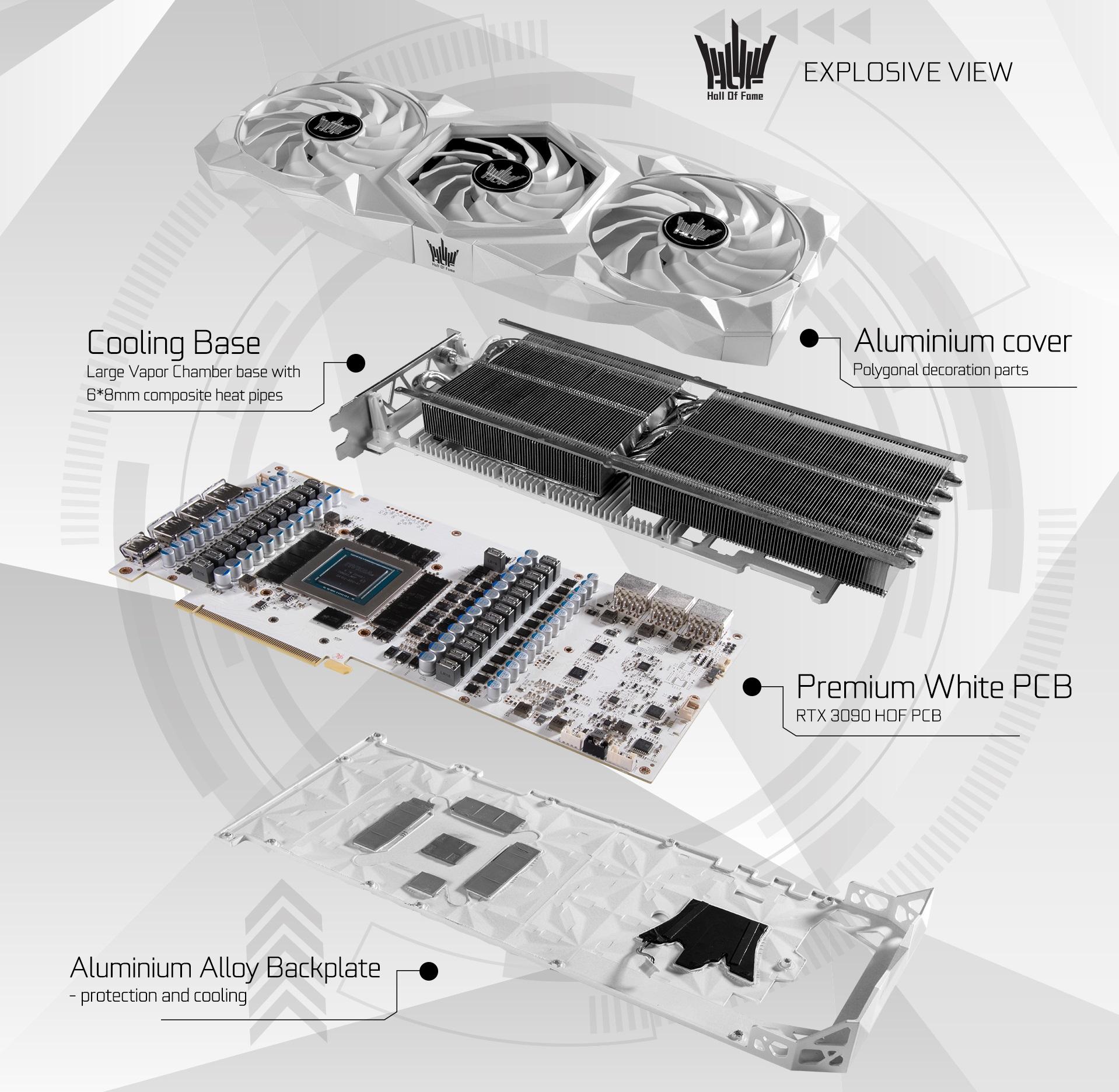 GALAX GeForce RTX 3090 Hall of Fame Premium 3 3