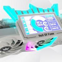 GALAX GeForce RTX 3090 Hall of Fame Premium: VRM de 26 fases de alimentación y pantalla LCD de 4.3″