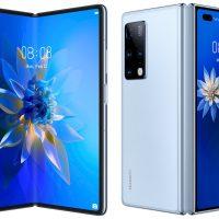 Huawei Mate X2 anunciado: Pantalla OLED de 8″ plegable @ 90 Hz y cuádruple cámara trasera