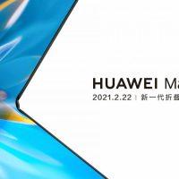 El Huawei Mate X2, el smartphone plegable de 8,01″, se anunciará el 22 de Febrero