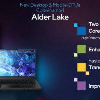 Se filtra toda la línea de productos Intel Alder Lake Mobile (hasta 16 núcleos @ 10nm)
