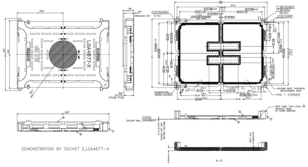 Socket LGA4677-X