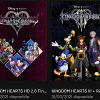 La franquicia de Kingdom Hearts llega a PC de la mano de Epic Games Store