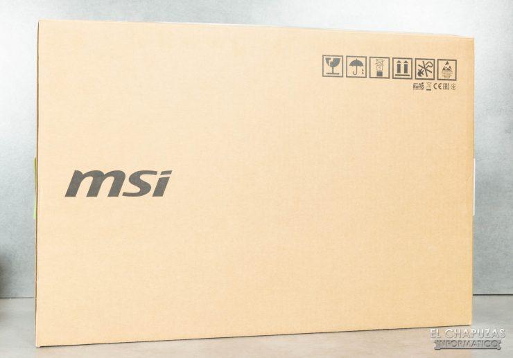 MSI GE76 Raider 10UH - Embalaje 1