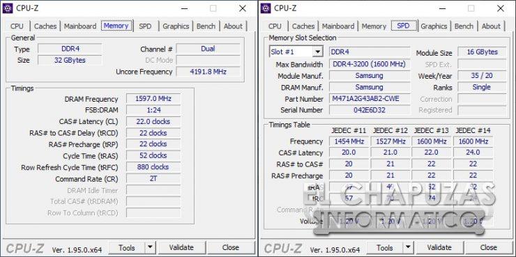 MSI GE76 Raider 10UH - Memorias 2