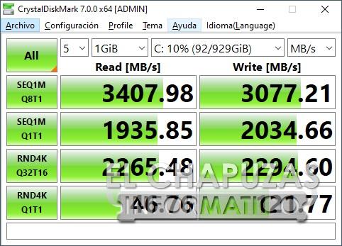 MSI GE76 Raider 10UH - SSD