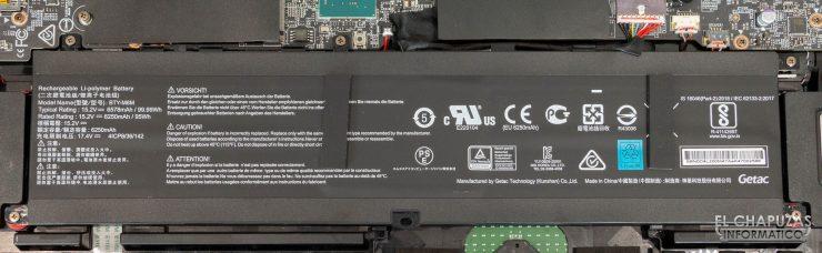 MSI GE76 Raider 10UH - Batería