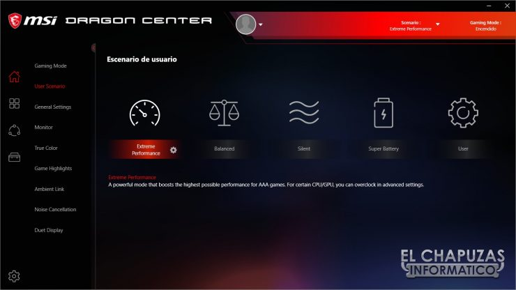 MSI GE76 Raider 10UH - Software