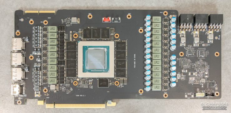 MSI GeForce RTX 3090 Suprim X - PCB frontal