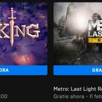 Descarga gratis el Metro: Last Light Redux y For The King desde la Epic Games Store