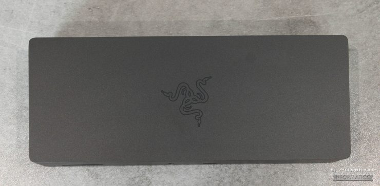 Razer Thunderbolt 4 Dock Chroma - Vista superior