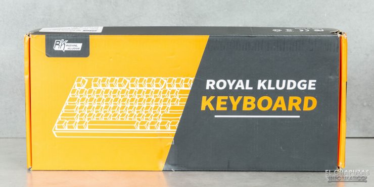 Royal Kludge G87 - Embalaje 1