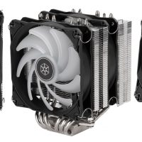 SilverStone Hydrogon D120 ARGB: Disipador CPU con diseño de doble radiador y 6 heatpipes de cobre