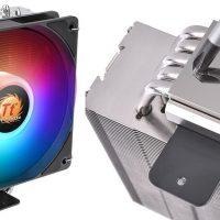 Thermaltake UX210 ARGB: Disipador CPU por aire con 5x heatpipes de cobre