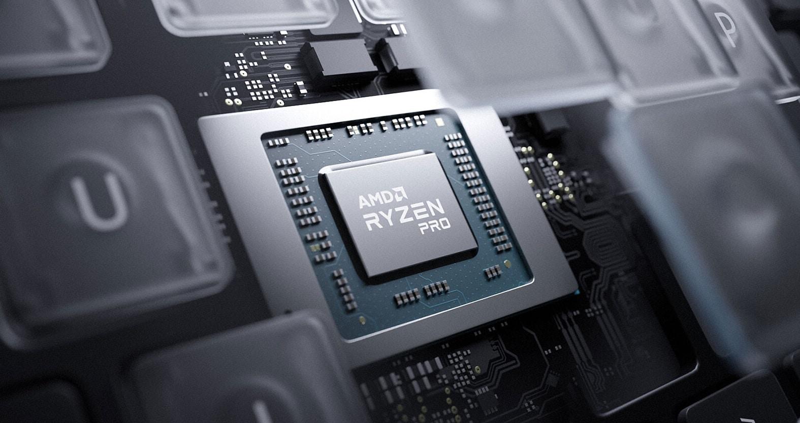 AMD anuncia sus procesadores Ryzen PRO 5000 Series Mobile para los portátiles de negocios