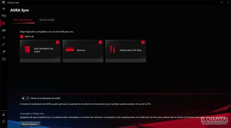 Asus ROG Maximus XIII Hero - Software 1