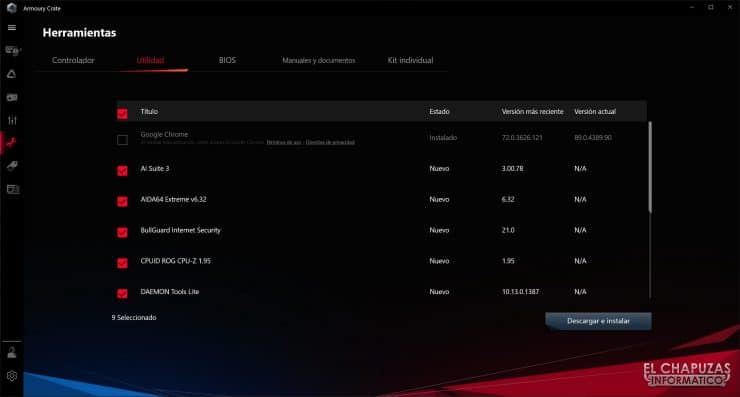 Asus ROG Maximus XIII Hero - Software 7