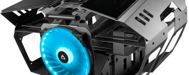 AZZA Overdrive: Chasis de diseño abierto con el diseño de un motor V8
