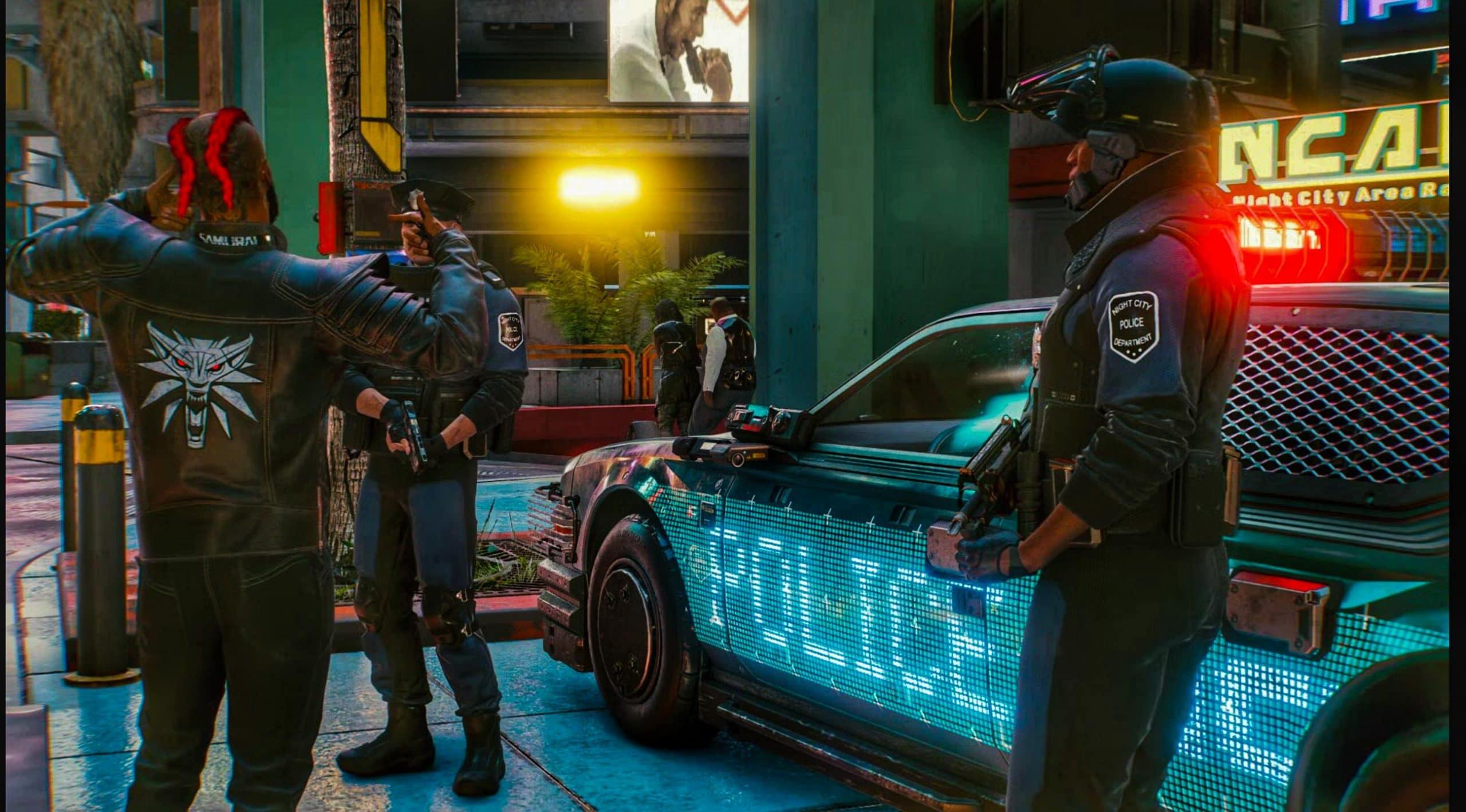 El Parche 1.2 de Cyberpunk 2077 abordará la IA de la policía y la conducción de vehículos
